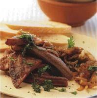 cuisiner le foie de veau foie de veau au marsala recettes de cuisine italienne