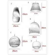 Paper Pendant Lighting Bold Design And Natural Corrugated Paper Designer Large Pendant