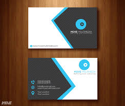 modern business card template free