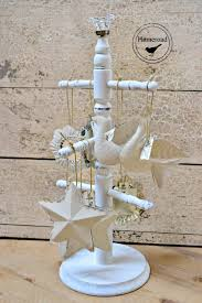 a great way to display ornaments and jewelry plus chalk painted