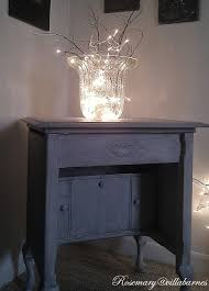 Christmas Lights In A Vase Villabarnes Frugal Christmas Decorating Ideas