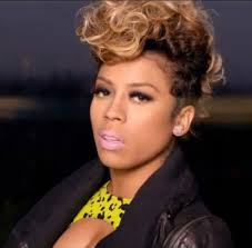 keyshia cole hairstyle gallery keyshia cole hair and makeup with curly mohawk style keyshia