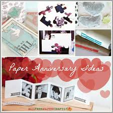 paper anniversary gift ideas 5 paper anniversary ideas craft paper scissors