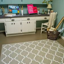 Faux Painted Floors - paint your floor to look like a rug hometalk