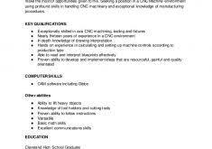 Cnc Machinist Resume Template Fantastic Cnc Machinist Resume 3 Cnc Machinist Resume Resume Example