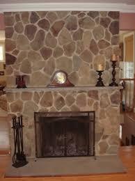 gas fireplace rocks home depot home design ideas