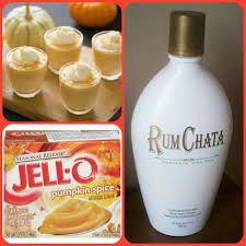 rumchata pumpkin pie pudding shots 1 small pkg pumpkin spice