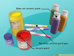 the 3 best ways to paint ceramic wikihow