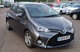 toyota yaris grey 2014 toyota yaris hybrid icon petrol electric grey cvt in milton