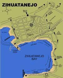 zihuatanejo map mexico zihuatanejo ixtapa map beaches of ixtapa and zihuatanejo bay