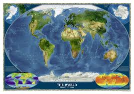 satellite map of the world satellite maps of the world