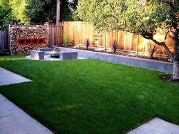 Desert Landscape Ideas For Backyards by Green Grass On Landscaping Ideas For Small Backyards With Some