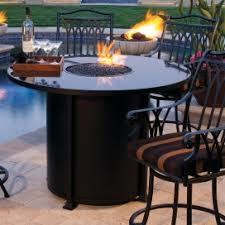 Bar Height Fire Table Wicker Land Patio Propane U0026 Natural Gas Fire Tables Archives