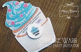 cupcake wars birthday party diy home decor and crafts