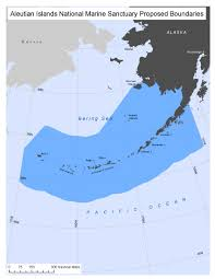 map of aleutian islands seeking sanctuary status for the aleutian islands archipelago