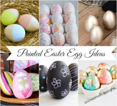 Easter Egg Decorating Ideas Paint by The Ultimate Easter Egg Decorating Collection Uncommon Designs