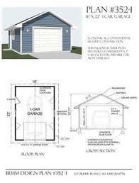 Garage Blueprints Download Free 18 X 22 Garage Plans Http Sdsplans Com Garage