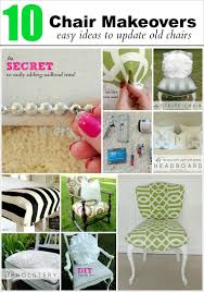 Dining Room Chair Fabric Ideas Livelovediy How To Reupholster A Chair My 10 Best Chair Makeovers
