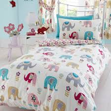 single duvet cover sets 100 cotton bedding boys girls animals