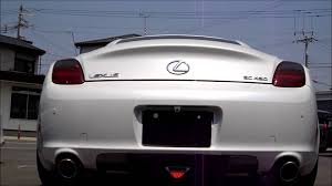 lexus soarer sc430 lexus sc430 exhaust sound youtube
