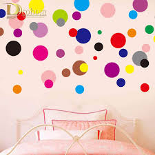 popular dot wallpapers buy cheap dot wallpapers lots from china classic dots wall stickers for kids rooms bedroom living room tv background wall decor removable vinyl