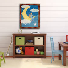 fly me to the moon kids art canvas panel children u0027s decor boy