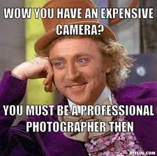 Photographer Meme - hiring a photographer what you are actually paying for web