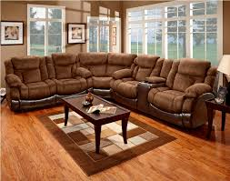 Sectional Sofa With Sleeper And Recliner Awesome Microfiber Reclining Sectional Sofa Gallery Liltigertoo