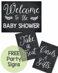 baby shower sign free printable baby shower signs print it baby baby shower