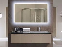 illuminated bathroom mirror lighted wall mirrors for bathrooms
