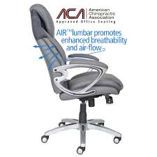 serta at home 43807 air health and wellness executive office chair