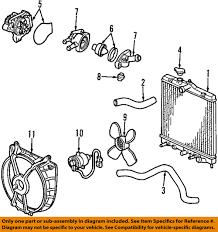 2005 Honda Cr V Engine Diagram Honda Oem 01 05 Civic Engine Coolant Thermostat 19301plc315 Ebay