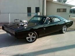 vin diesel car used on fast and furious movie a1968 dodge charger