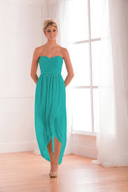 high low bridesmaid dresses turquoise bridesmaid dresses glamorous sweetheart neckline a line