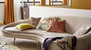 canapé tendance tendance déco le canapé arrondi style kagan le déco de mlc