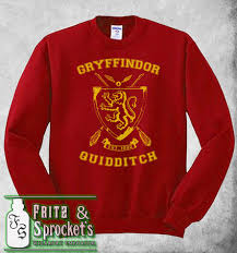 A Maroon Gryffindor Quidditch Sweater On The Hunt