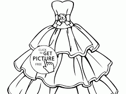 download wedding dresses coloring pages ziho coloring