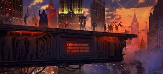 Red Awn Artstation Red Dawn Alexey Egorov