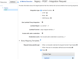 Request Mapping Legacy Soap Api Integration With Java Aws Lambda And Aws Api