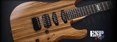 m iii 2 pt zebrawood the esp guitar company