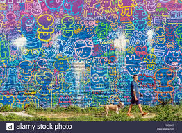 street art in barcelona catalonia spain mural on a concrete similar stock images