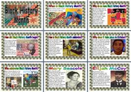 black history month free printable posters for display