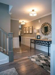 foyer with hardwood and wainscoting the chester floor plan drees