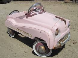 Custom Paint Color Matching Pedal Car Pink With Chalk Paint By Annie Sloan