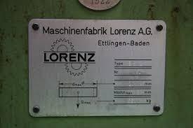 lorenz e16 2 vertical gear hobbing machine exapro