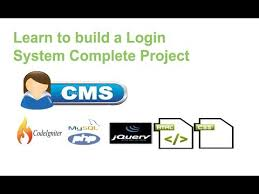 tutorial css php login system with html css php mysql codeigniter tutorial 1 youtube