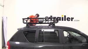 Ors Roof Racks by Review Of The Thule Moab Roof Top Cargo Basket On A 2010 Jeep