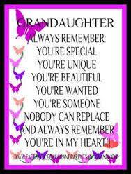 birthday poems for granddaughter my granddaughters pinterest
