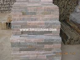 Faux Slate Floor Tiles Wall Decor Various Color And Shape Of Stone Veneer Panels For