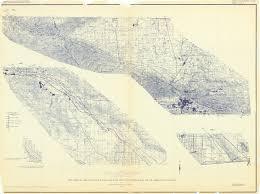 California Fault Map 1966 D San Andreas Fault Zone Flight University Library